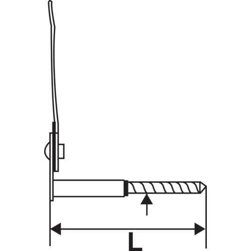 ARRÊT MARSEILLAIS - INOX LG: 130 MM