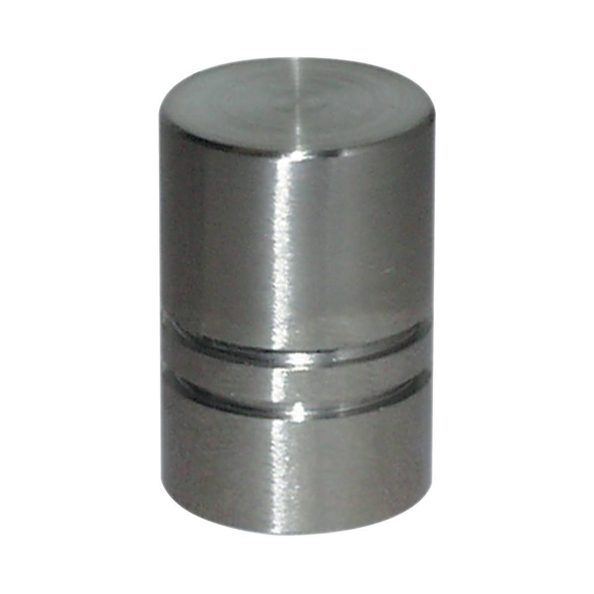 BOUTON CYLINDRIQUE EN INOX Ø 18 MM