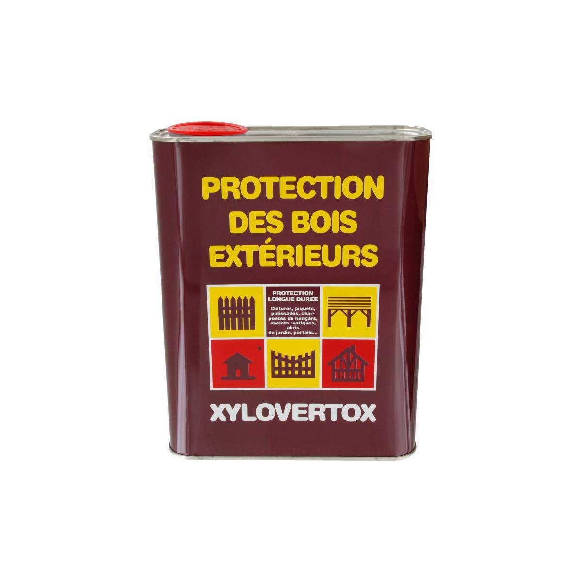 PROTECTION DES BOIS EXTÉRIEUR XYLOVERTOX