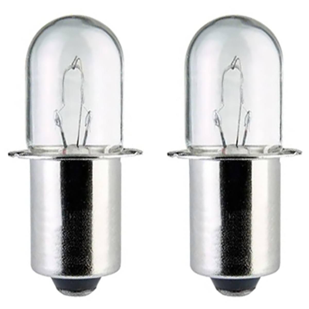 AMPOULE POUR LAMPE TORCHE MAKITA ML120, ML124, ML140 et ML141.