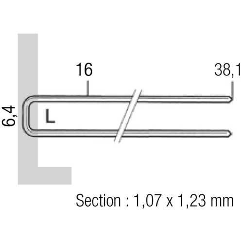 AGRAFEUSE-CLOUEUSE ÉLECTRIQUE SENCO - 16 À 25 MM